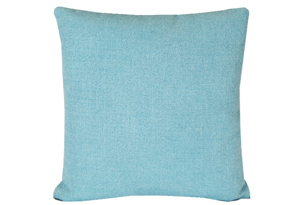 Accent Pillow-Teal Textural Solid 18X18