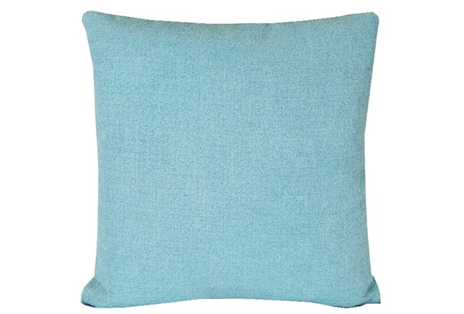 Accent Pillow-Teal Textural Solid 18X18 - 360