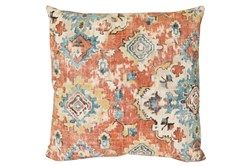 Accent Pillow-Terracotta Antique Damask 20X20