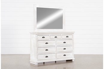 Sinclair Pebble Dresser/Mirror