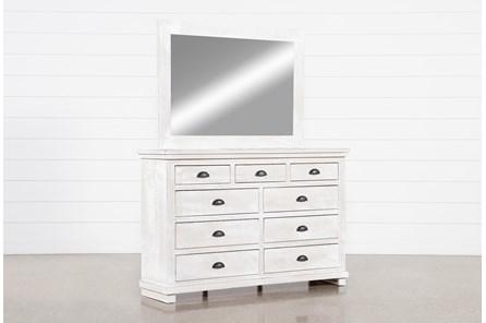 Sinclair Pebble Dresser/Mirror
