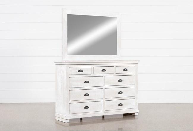 Sinclair Pebble Dresser/Mirror - 360