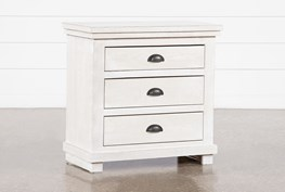 """Sinclair Pebble 31"""" Nightstand With USB"""