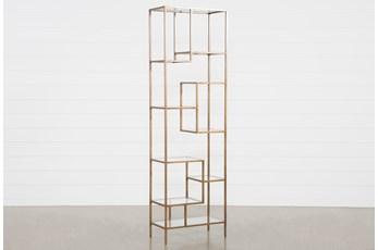 Pollie 102 Inch Bookcase