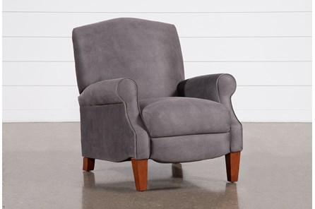 Rupert Graphite Recliner - Main