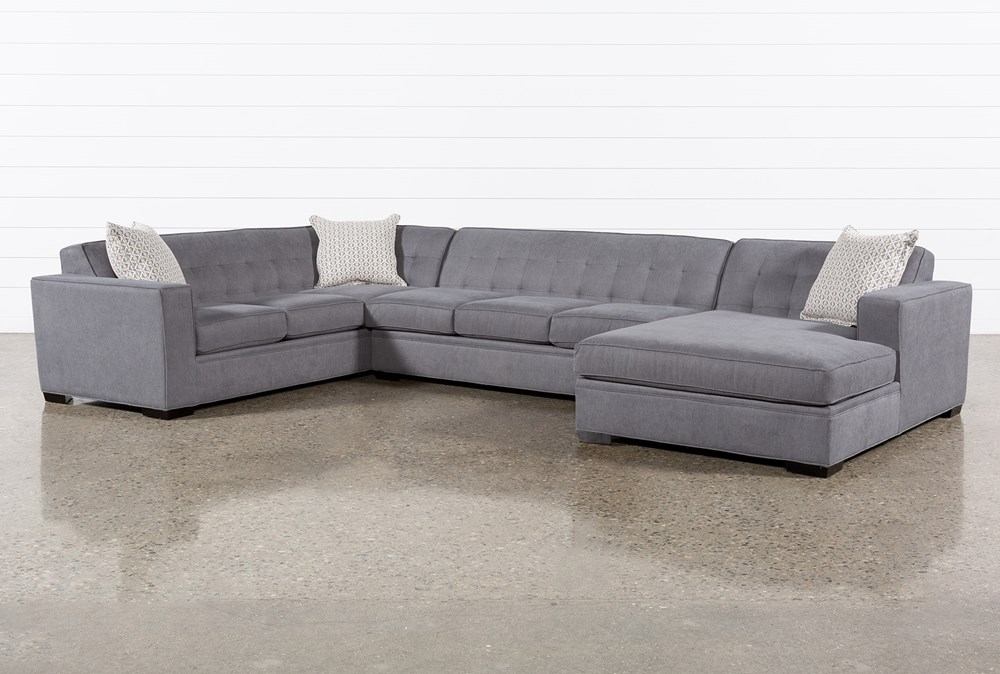 Costello III 3 Piece Sectional With Right Arm Facing Chaise