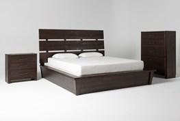 Teagan Queen Panel 3 Piece Bedroom Set