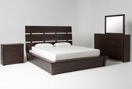 Teagan Queen Panel 4 Piece Bedroom Set