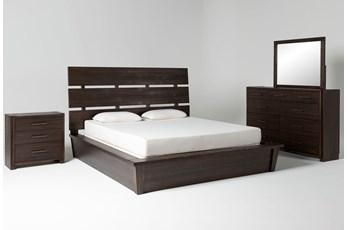 Teagan California King Panel 4 Piece Bedroom Set