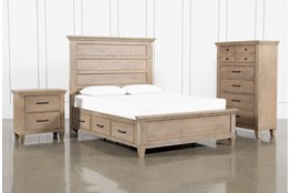 Meridian Queen Storage 3 Piece Bedroom Set