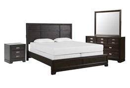Flynn California King Panel 4 Piece Bedroom Set