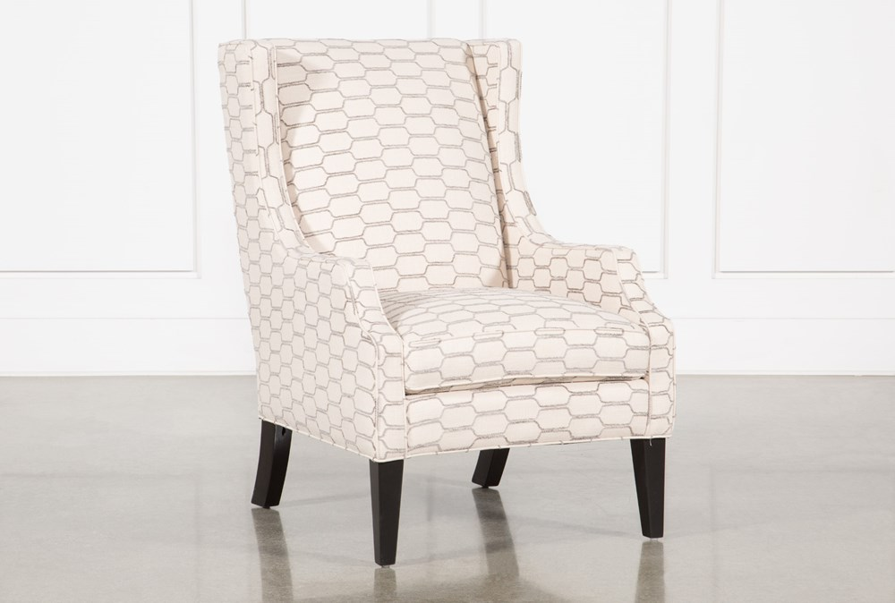Lewis Steel Accent Chair