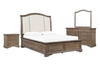 Chapman California King Sleigh 4 Piece Bedroom Set