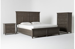 Augusta Eastern King Panel 3 Piece Bedroom Set