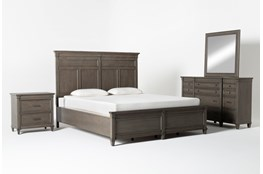 Augusta Eastern King Panel 4 Piece Bedroom Set