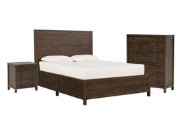 Rowan Eastern King Panel 3 Piece Bedroom Set
