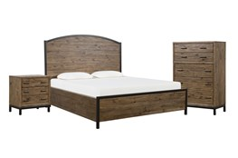Foundry Eastern King Panel 3 Piece Bedroom Set