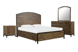 Foundry California King Storage 4 Piece Bedroom Set