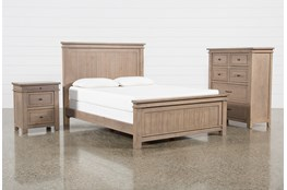 Coleman California King Panel 3 Piece Bedroom Set