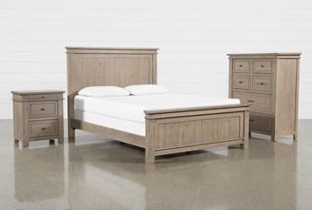 Coleman Eastern King Panel 3 Piece Bedroom Set