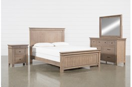 Coleman Eastern King Panel 4 Piece Bedroom Set