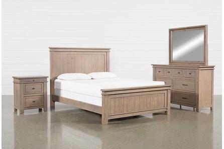 Coleman Queen Panel 4 Piece Bedroom Set