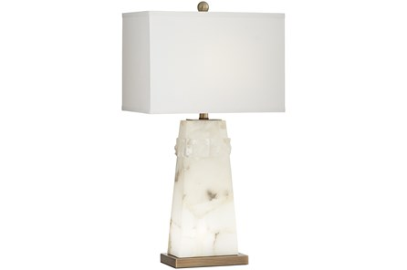 Table Lamp-White Geode