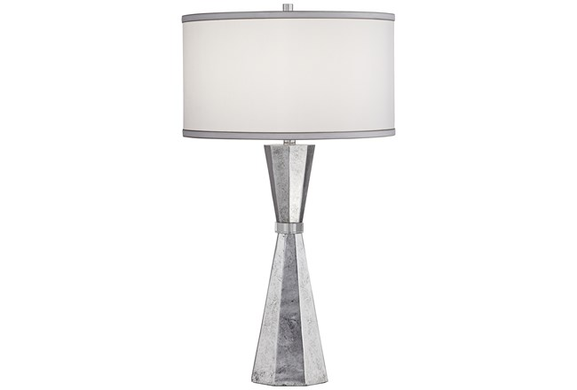 Table Lamp-Chrome Totem  - 360