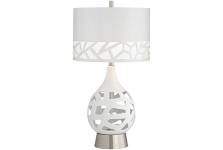Table Lamp-White Laser Cut - Main