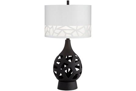 Table Lamp-Black Laser Cut - Main