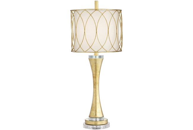 Table Lamp-Ellie Gold  - 360