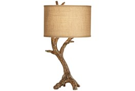 Table Lamp-Rooted