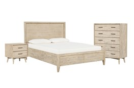 Allen California King Storage 3 Piece Bedroom Set