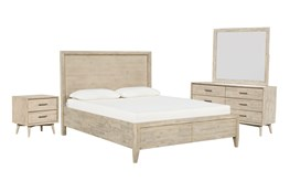 Allen California King Storage 4 Piece Bedroom Set