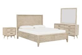 Allen California King Storage 4 Piece Bedroom Set