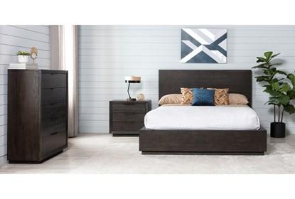 Pierce Queen Panel 3 Piece Bedroom Set Living Spaces