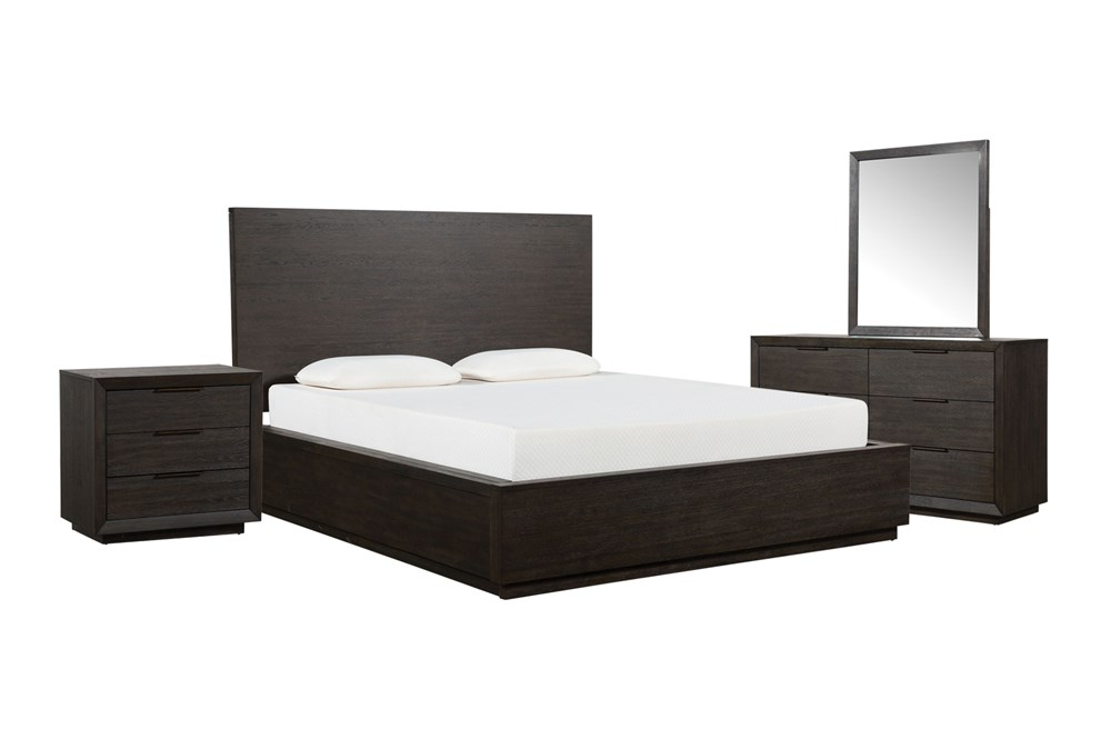 Pierce California King Panel 4 Piece Bedroom Set
