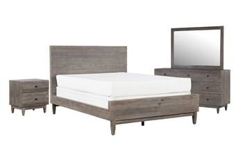 Ashton Queen Platform 4 Piece Bedroom Set
