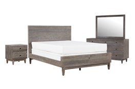 Ashton Eastern King Platform 4 Piece Bedroom Set