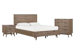 Caleb Eastern King Storage 3 Piece Bedroom Set