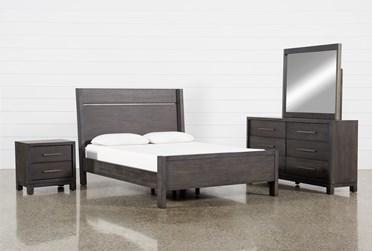 Slater Queen Panel 4 Piece Bedroom Set