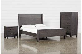 Slater California King Panel 3 Piece Bedroom Set