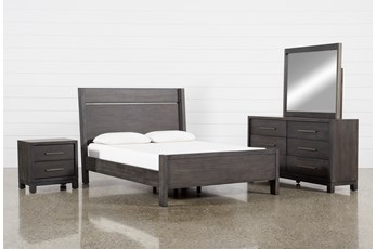 Slater California King Panel 4 Piece Bedroom Set