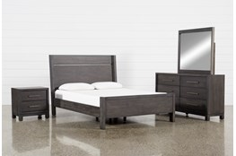 Slater Eastern King Panel 4 Piece Bedroom Set