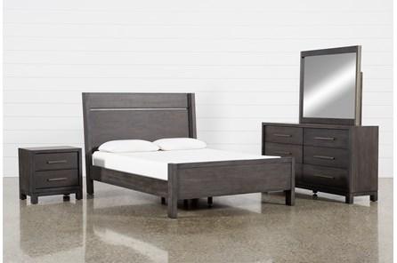 Slater Eastern King Panel 4 Piece Bedroom Set