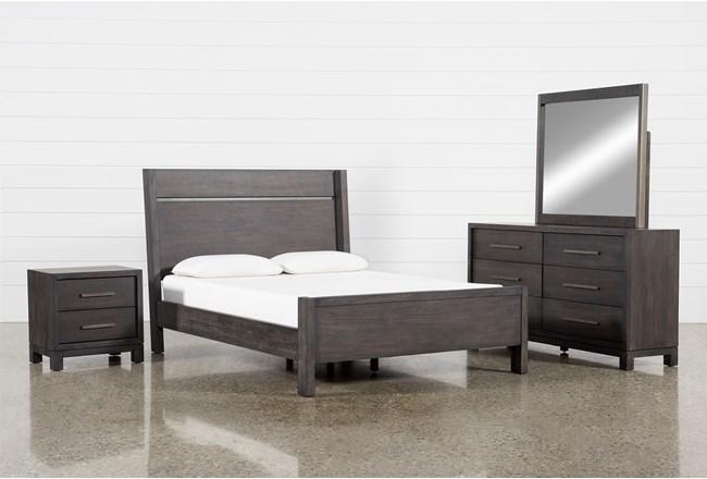Slater Eastern King Panel 4 Piece Bedroom Set - 360