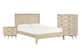 Allen Eastern King Panel 3 Piece Bedroom Set