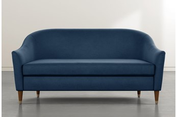 Marta Navy Blue Sofa By Nate Berkus And Jeremiah Brent
