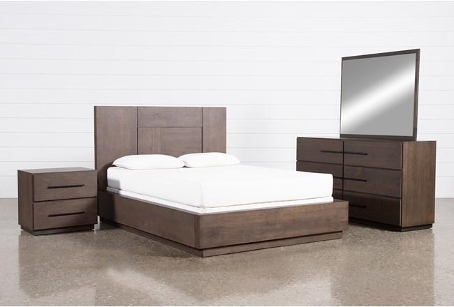 Orwell Queen Panel 4 Piece Bedroom Set - 360