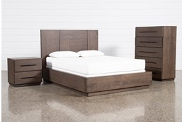 Orwell Eastern King Panel 3 Piece Bedroom Set
